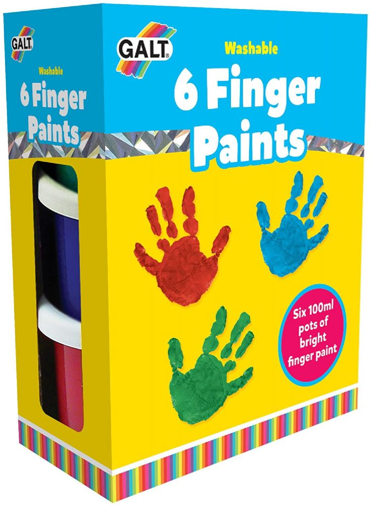 Galt Toys Six Finger Paints Washable